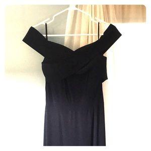 Navy Blue size 12 Sorella Vita Bridesmaid Dress